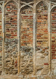 Medieval stone and brick work Royalty Free Stock Image