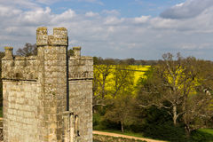 Medieval stone castle tower Royalty Free Stock Photography