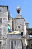 Medieval stone house in Split, Croatia Royalty Free Stock Image