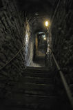 Medieval stone staircase Royalty Free Stock Photo