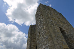 Medieval stone tower Royalty Free Stock Photos