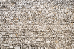 Medieval Stone Wall Background. Old stone wall background of a medieval castle Stock Photography