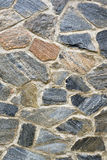 Medieval stone wall Stock Photo