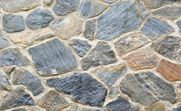 Medieval stone wall Royalty Free Stock Photo