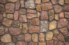 Medieval stone wall background Stock Images