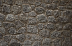 Medieval stone wall background Royalty Free Stock Image