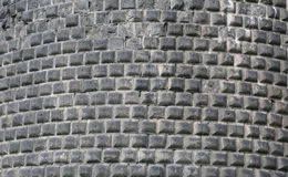 Medieval stone wall Stock Photography