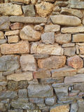 Medieval stone wall Stock Image