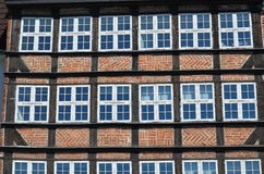 Medieval storehouse in the Hanseatic City of Lübeck Royalty Free Stock Images