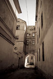 Medieval street Stock Images