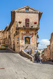 Medieval street of Assisi, Italy Royalty Free Stock Photo