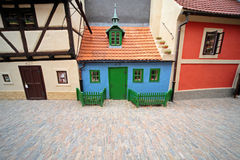 Medieval street detail, Prague Royalty Free Stock Photography