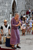 Medieval street music Royalty Free Stock Images