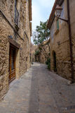 Medieval street royalty free stock photos
