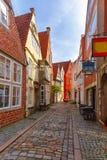 Medieval street Schnoor in Bremen, Germany Royalty Free Stock Image