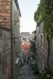 Medieval streets in Dubrovnik. Medieval streets in the Dubrovnik's City Stock Photography
