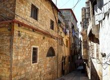 The Streets of Old Tripoli, Lebanon Royalty Free Stock Photos