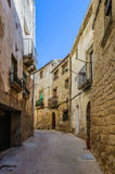 Medieval streets in Sant Joan de Horta, Spain Stock Photography