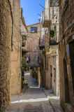 Medieval streets in Sant Joan de Horta, Spain Royalty Free Stock Photography