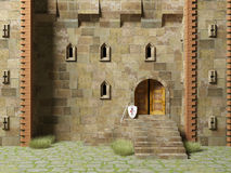 Medieval stronghold Royalty Free Stock Photography