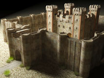 Medieval stronghold Royalty Free Stock Images