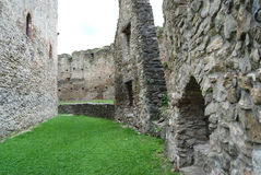 Medieval stronghold walls Royalty Free Stock Image