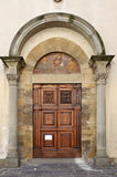 Medieval style door Stock Photos