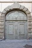 Medieval style door Royalty Free Stock Image