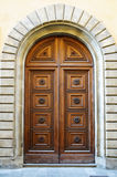 Medieval style door Royalty Free Stock Photography