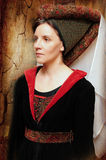 Medieval style portrait Royalty Free Stock Photo