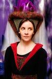 Medieval style portrait Stock Photo