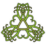 Medieval style triangle ornament vector illustration