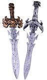 Medieval sword toy Stock Photo