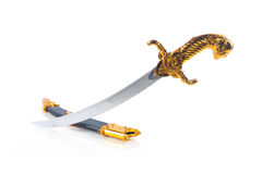 Medieval sword toy Royalty Free Stock Images