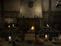 Medieval Tavern Royalty Free Stock Photos