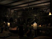 Medieval Tavern Royalty Free Stock Photos