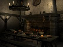 Medieval Tavern Stock Image