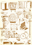 Medieval technology and Industry - vector pack Stock Photography