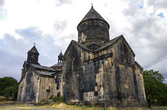 Medieval Tegher monastery complex, on the slope of Aragats mount. Ain, Armenia Royalty Free Stock Photography