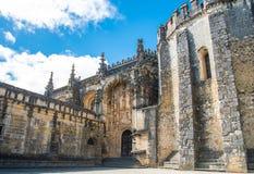 Medieval Templar castle in Tomar, Royalty Free Stock Photos