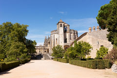 Medieval Templar castle in Tomar, Portugal Stock Photos