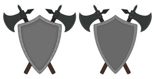 Medieval templar knight armor set. Contour Royalty Free Stock Images