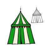 Medieval tent Royalty Free Stock Photo