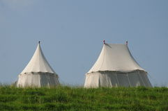 Medieval Tents Royalty Free Stock Photo
