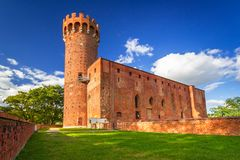 Medieval Teutonic Castle in Swiecie. Poland Royalty Free Stock Photography