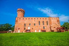 Medieval Teutonic castle in Swiecie. Poland Stock Photography