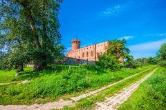 Medieval Teutonic castle in Swiecie. Poland Royalty Free Stock Image