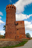Medieval Teutonic castle in Swiecie, Poland Royalty Free Stock Photography