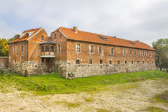 Medieval Teutonic castle in Sztum, Poland. Teutonic castle in Sztum built in the fourteenth century Royalty Free Stock Photos