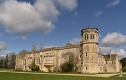 Lacock Abbey royalty free stock image